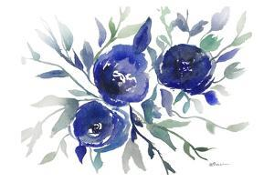 Blue Roses by Victoria Brown