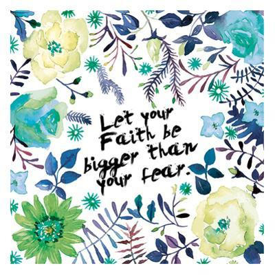 Floral Bigger Faith by Victoria Brown