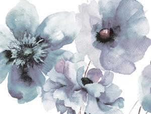 Flowering Blue Hues by Victoria Brown