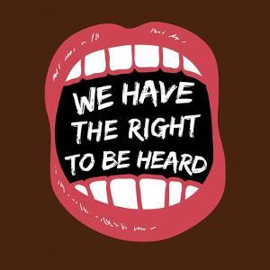 Hear Our Rights BLM by Victoria Brown
