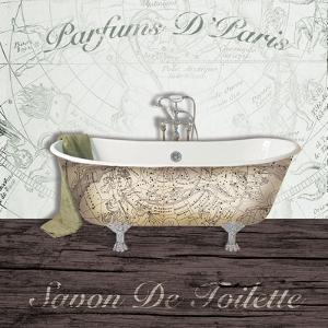 Mapped Bath by Victoria Brown