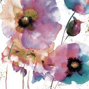 Pink Flowers 1 by Victoria Brown