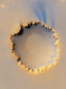 Victoria Crater, Mars, MRO Image
