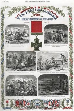 Victoria Cross, British Award for Gallantry, 1857