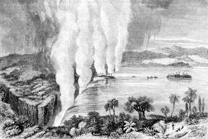 Victoria Falls, Africa, 1857
