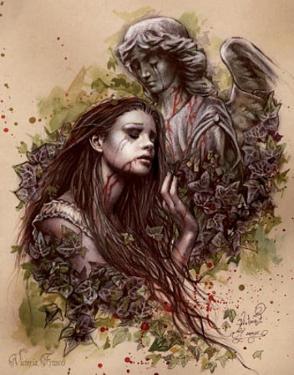 Victoria Frances (El Amor) Art Poster Print