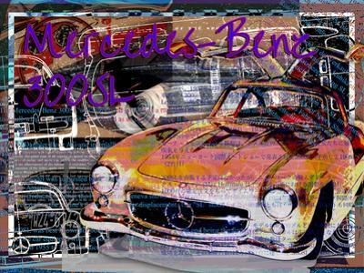 Mercedes Benz 300 Sl by Victoria Hues