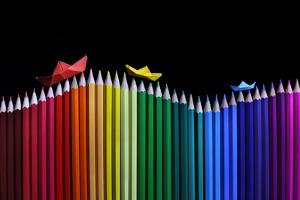 Rainbow Storm by Victoria Ivanova