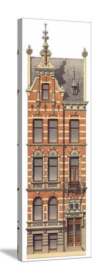 Victorian House 2--Stretched Canvas