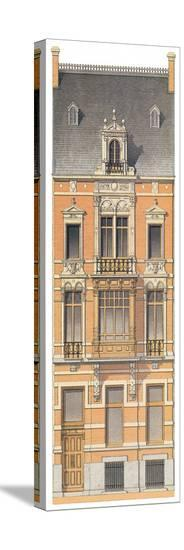 Victorian House 3--Stretched Canvas