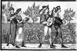 Victorian Reconstruction of Medieval Music Making