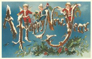 Victorian Santa Angels
