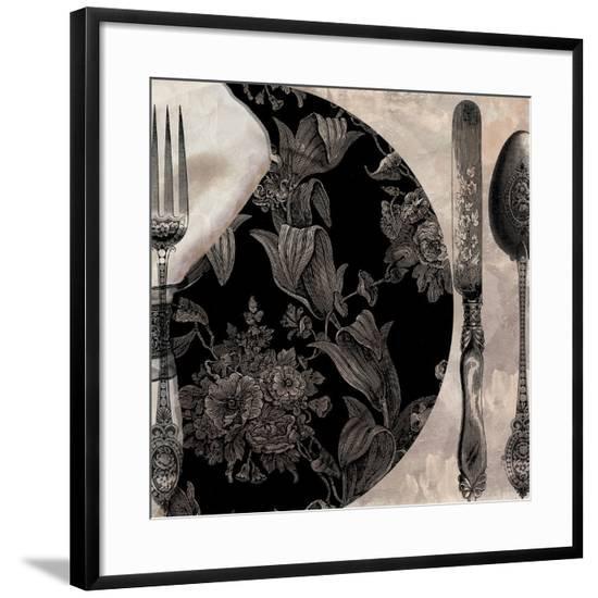 Victorian Table I--Framed Giclee Print