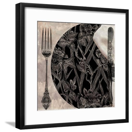Victorian Table II--Framed Giclee Print