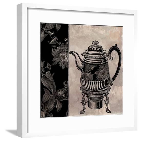 Victorian Table III--Framed Giclee Print