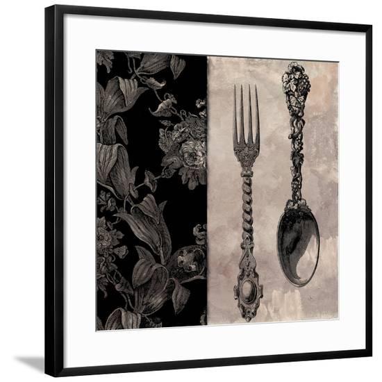 Victorian Table IV--Framed Giclee Print