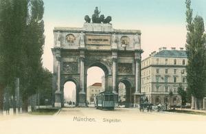 Victory Arch, Munich, Germany