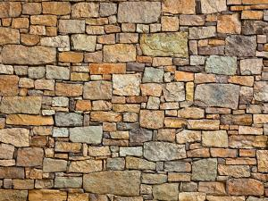 Background of Stone Wall Texture by viczast