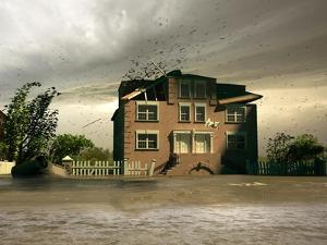 Flooding House by viczast