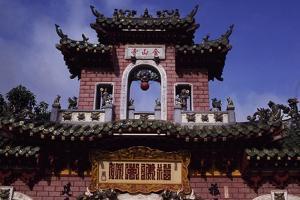 Vietnam, Hoi an Village, Near Da Nang, Phuoc Kien Pagoda
