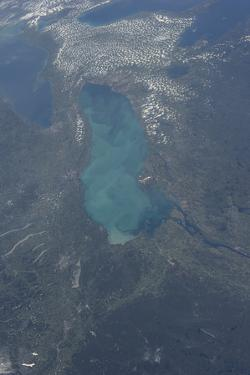View from Space of Lake Ontario
