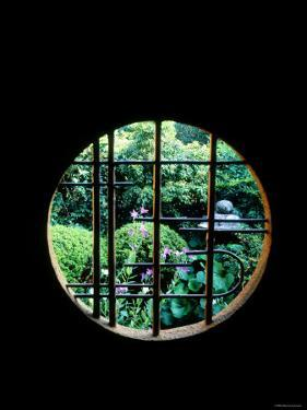 View from the Window, Tentokuin Temple, Kyoto, Japan