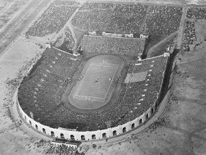 View Looking down on Municipal Stadium