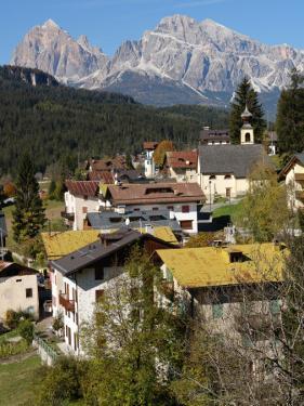 View Near San Vito Di Cadore, Trento, Italy