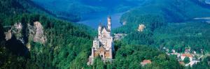 View of a Castle, Neuschwanstein Castle, Bavaria, Germany