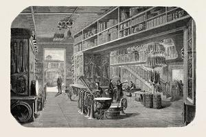 View of a Part of the Gautrot Stores, France. 1855