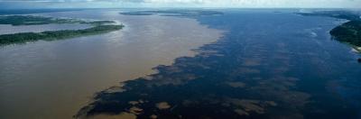View of a River, Manaus, Amazon River, Amazonas, Brazil
