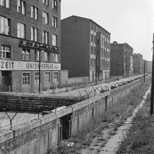 View of Berlin Wall