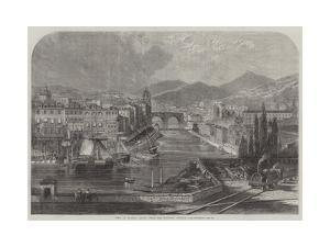 View of Bilbao, Spain, from the Railway Station