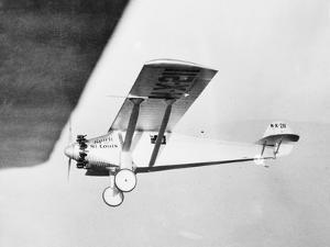 View of Charles Lindberg's Plane