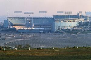 View of Dodgers Stadium