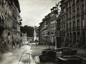 View of Fountain in Bern