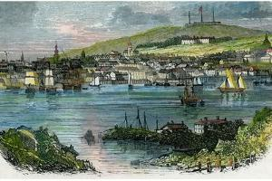 View of Halifax, Nova Scotia, C1870