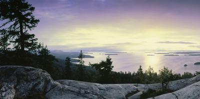View of Lake Pielinen from Koli National Park, Lieksa, Finland