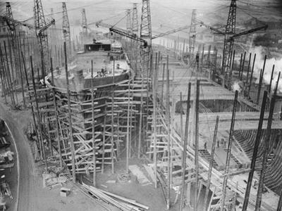 View of Newport News Shipbuilding