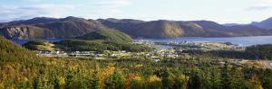View of Norris Point, Near Gros Morne National Park, Newfoundland & Labrador, Canada