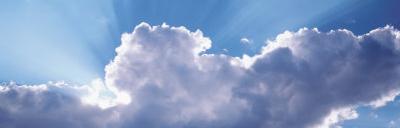 View of Rain Clouds, Wyoming, USA