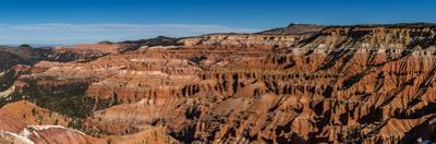 View of rock formations, Circle of Painted Cliffs, Markagunt Plateau, Cedar Breaks National Monu...