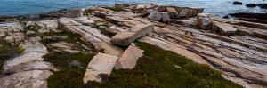View of rocks at coast, Acadia National Park, Maine, USA