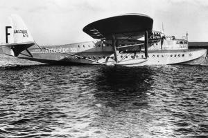 View of Seaplane Lieutenant De Vaisseau Paris