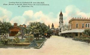 View of St.Augustine, Florida