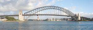 View of Sydney Harbour Bridge from Sydney Opera House, Sydney, New South Wales, Australia