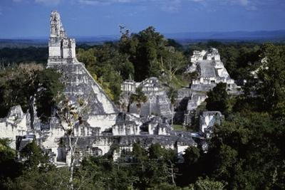 View of Temple V, Tikal National Park