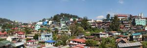 View of the Baguio City, Benguet, Luzon, Philippines