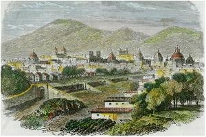View of the City of Cuzco, Peru, C1875