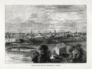 View of the City of Melbourne, Victoria, Australia, 1877